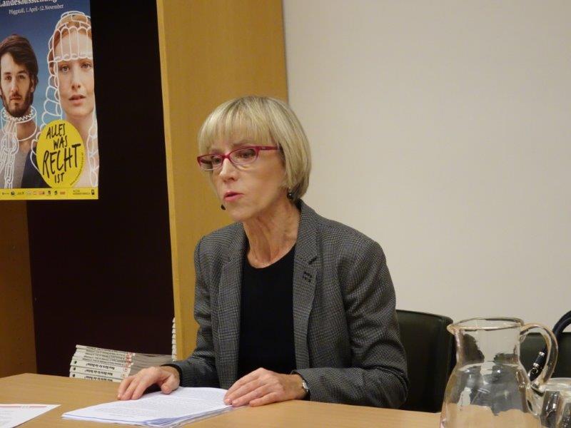 Dr. Maddalena Guiotto beim Vortrag in der ÖKV