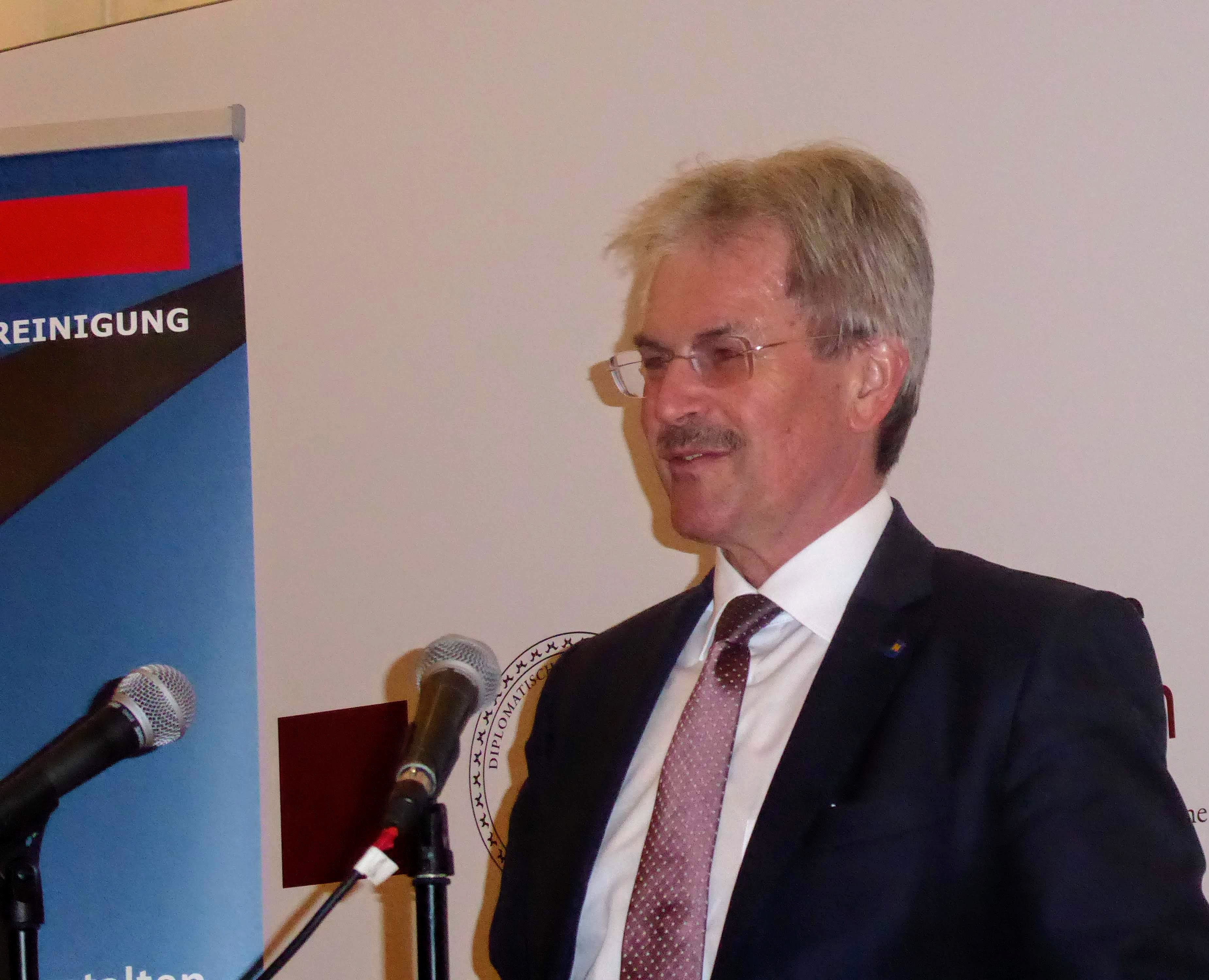 nö. Landtagspräsident Wilfing