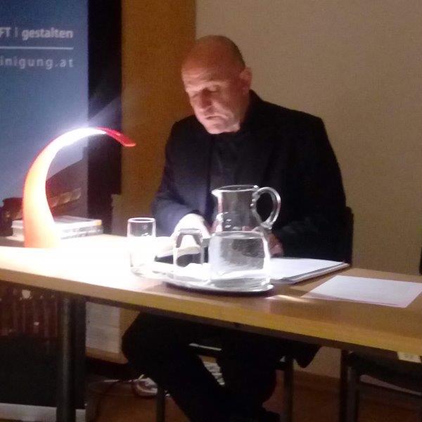 Peter Gruber liest in der ÖKV