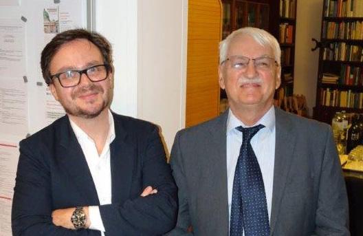 Günther Bischof und Hannes Richter